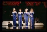 Women in Blue Gowns Singing